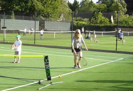 Playing Doubles at Woodstock Tennis Club